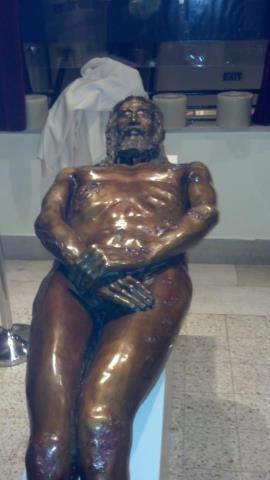 Shroud Of Turin Statue