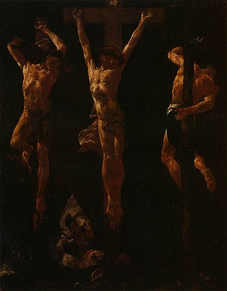 467px-Giovanni_Battista_Piazzetta_-_Christ_Crucified_between_the_Two_Thieves_-_WGA17417