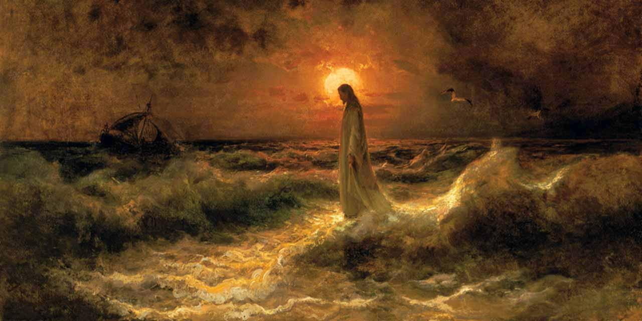 Cristo-caminhando-sobre-as-águas