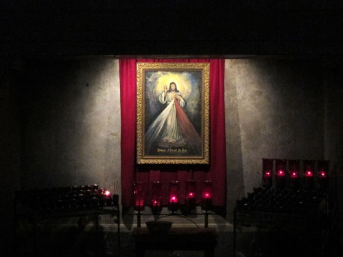 Our_Lady_of_Consolation_(Carey,_Ohio),_interior,_Divine_Mercy_shrine