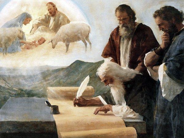 Isaiah Writes of Christ's Birth