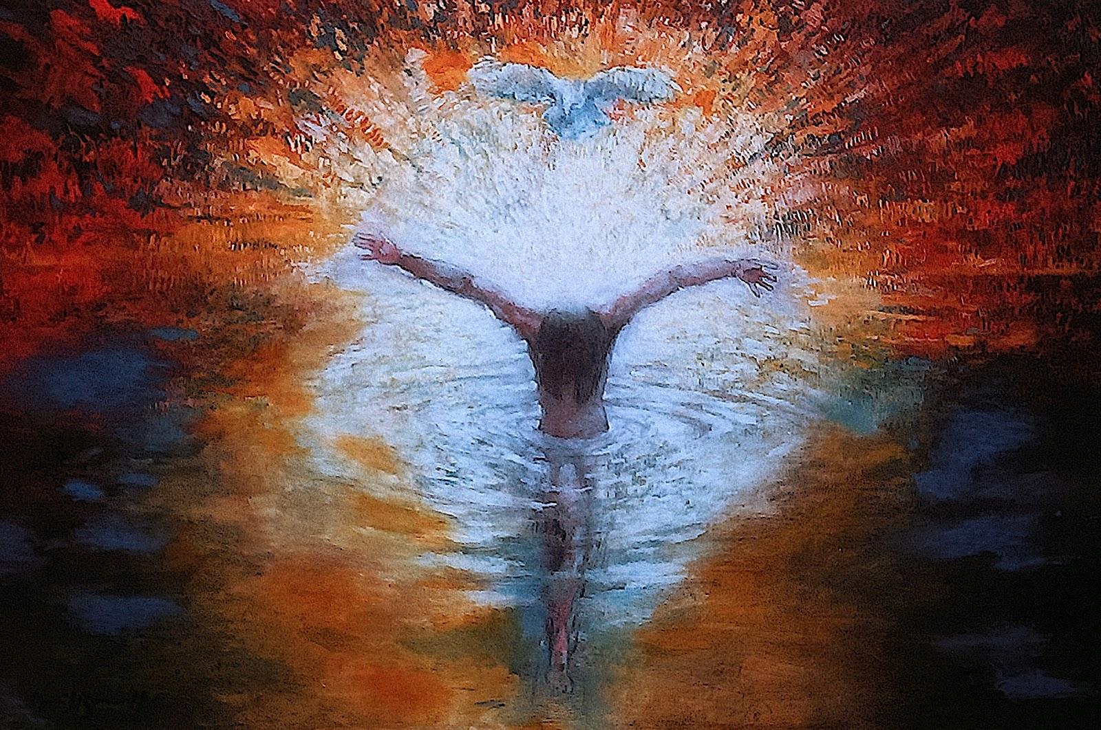 Baptism of Jesus   Peg Pondering Again