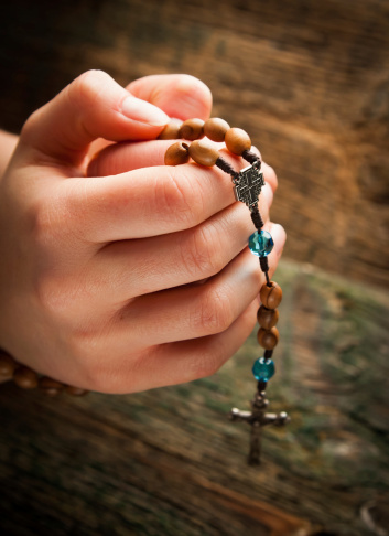 rosary-in-hand