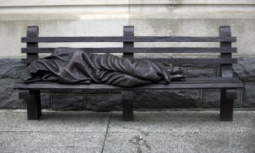 Jesus Homeless